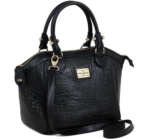Bolsa Feminina Super Luxo 100% Couro Ótima Qualidade