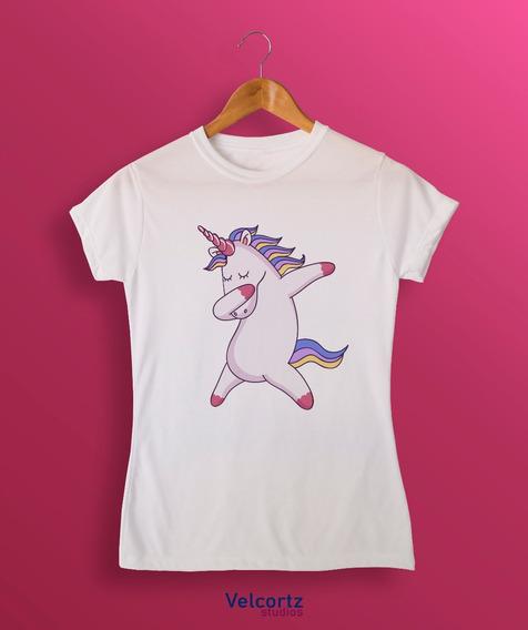 Blusa Unicornio Dab Cuello Redondo Sublimación Poly
