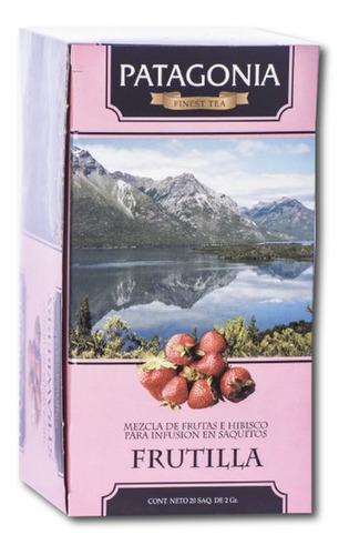 Imagen 1 de 2 de Te Patagonia Premium X 20 Saq. Frutilla