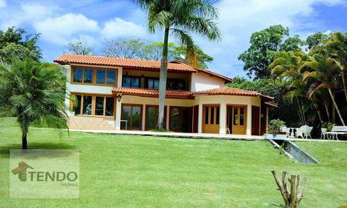 Imagem 1 de 30 de Chácara Com 5 Dormitórios Para Alugar, 3500 M² Por R$ 11.000,00/mês - Colinas Do Mosteiro De Itaici - Indaiatuba/sp - Ch0106