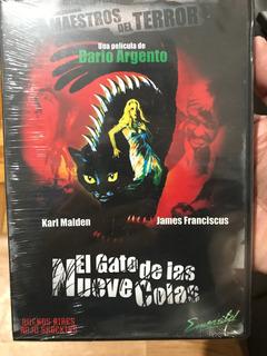 Dvd El Gato De Las Nueve Colas / De Dario Argento