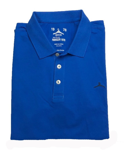 Tipo Polo Camiseta Hombre Color Entero Importada