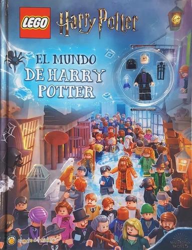 Lego El Mundo De Harry Potter Minifigura Con Libro Infantil