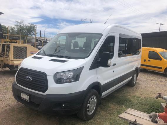 Ford Transit Mod 2019 Para 15 Pasajeros Diesel