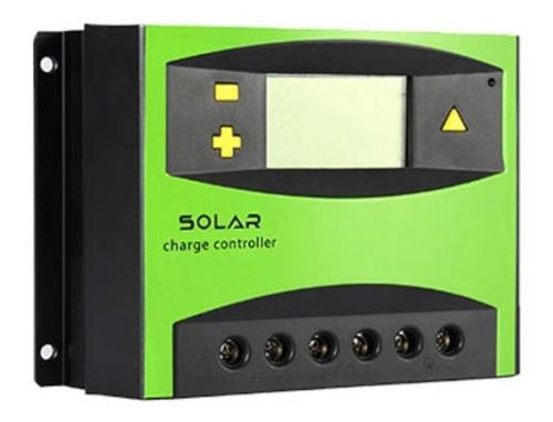 Imagen 1 de 6 de Regulador Para Panel Solar Dm 12v 24v 60a - Electroimpulso