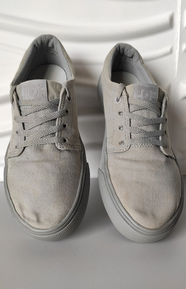 Tênis Dc Shoes Trase Feminino Cinza 35