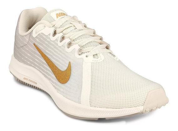 Nike Downshifter 8 I - Gris Y Blanco