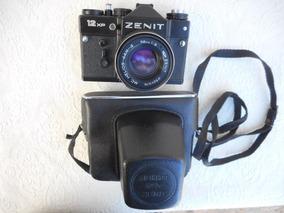 Câmera Fotográfica Analógica Zenit Antiga (no Estado)