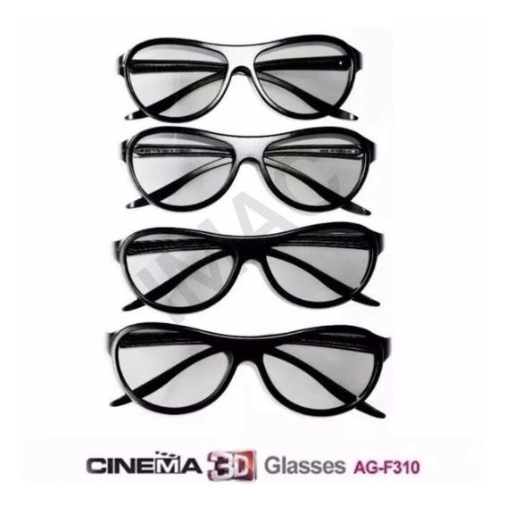 Óculos Tv LG 3d Kit Completo 4 Óculos Ag-f310 Original Novo