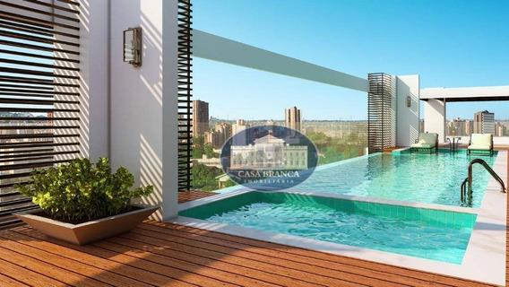 Apartamento Com 1 Dormitório À Venda, 48 M² Por R$ 285.000 - Vila Mendonça - Araçatuba/sp - Ap0677