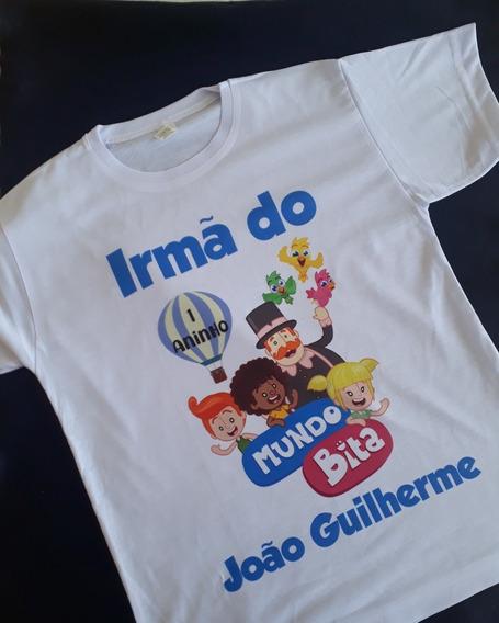 3 Camisas Personalizadas - Blusas Mundo Bita