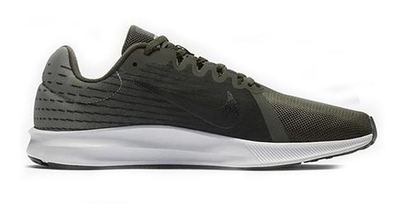 Tenis Nike Downshifter 8 Verde Original Hombre 908984 302