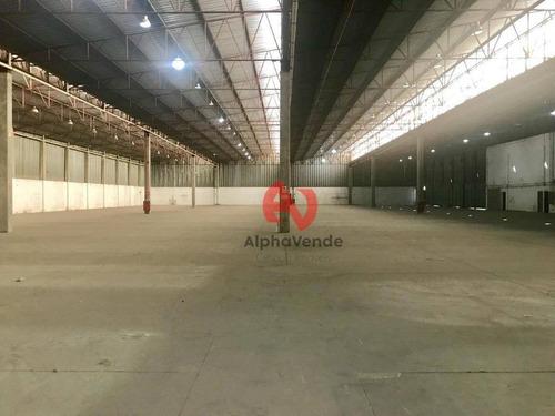 Galpão Comercial À Venda, Alphaville Industrial, Barueri. - Ga0727
