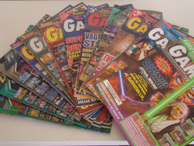 Lote 14 Revistas Games - Gamers