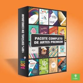 Promoçãopacote Completo De 600 Artes Premium Para Coreldraw