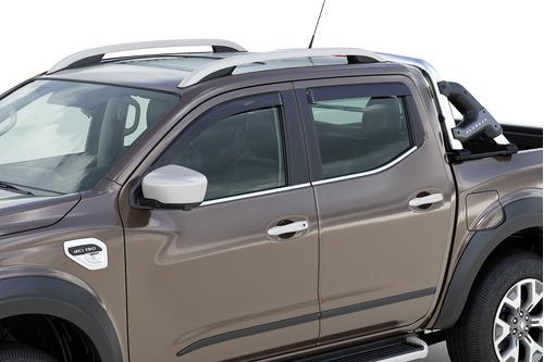 Imagen 1 de 8 de Deflectores Ventanilla Lluvia Renault Alaskan Emotion 4x2 2.