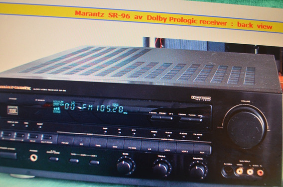 Receiver Marantz Sr-96 - Home Theater E Turntable Pioneer