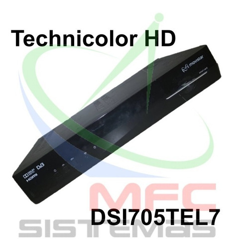 Movistar Tv Technicolor Hd Modelo Dsi705