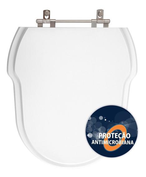 Assento Sanitário Anti Bactéria Hampton Branco Para Incepa