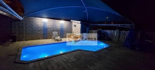 Chácara Com 2 Dormitórios À Venda, 980 M² Por R$ 900.000,00 - Núcleo Residencial Princesa D Oeste - Campinas/sp - Ch0108