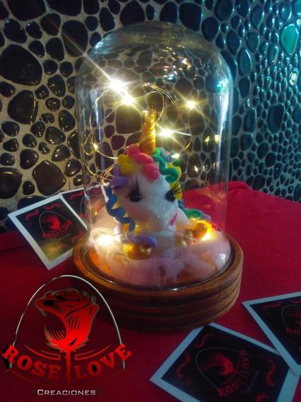 Unicornio 1er Año Cumpleaños Lampara Souvenir Centro De Mesa