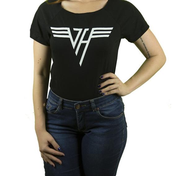 Camiseta Rock Van Halen Feminina