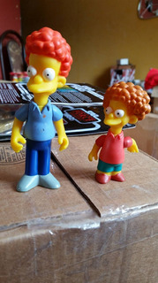 The Simpsons Playmates Todd Rod Flanders