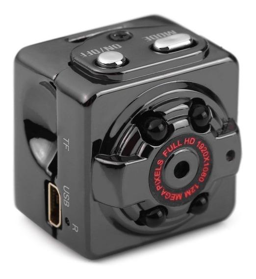 Mini Câmera Sq8 1080p Hd Com Visão Noturna Infravermelha 12m