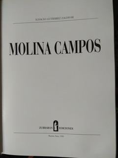 Molina Campos De Ignacio Gutierrez Zaldivar Impecable