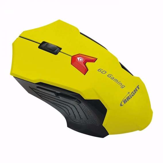Mouse Gaming Usb 2400 Dpi - Bright 0375-n