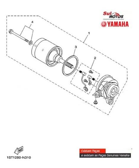 Motor De Arranque Fazer 150 Factor/ Crosser 150 Original R