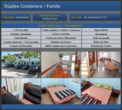 Alquiler Duplex Y Departamentos 9 Y 12 Personas San Clemente