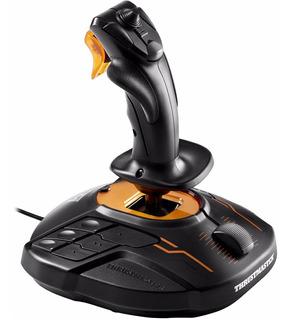 Joystick Simulador Vuelo Ambidiestro Pc T16000m Thrustmaster