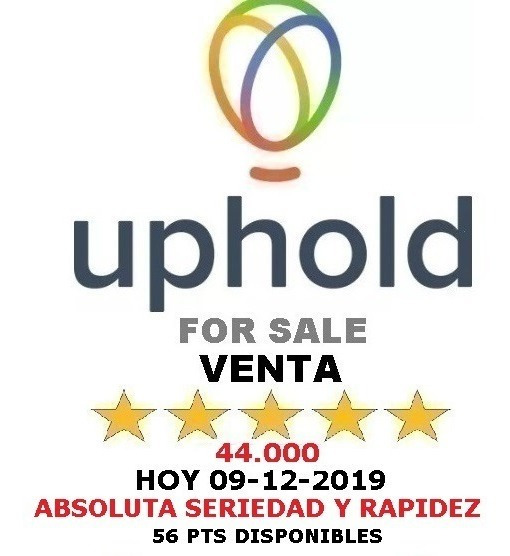Uphold Sale