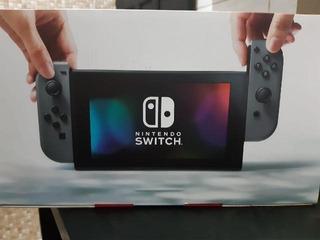 Nintendo Switch + Joycon + 2 Controles + Jogos + Microsd 64g