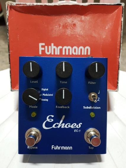 Pedal Fuhrmann Echoes Tap Delay - Super Conservado, Na Caixa