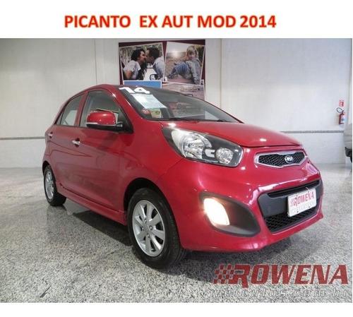 Imagem 1 de 14 de Picanto Ex Automatico Mod 2014 Mod Novo Novissimo