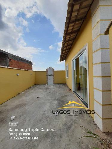 Imagem 1 de 9 de Casa Com 02 Quartos Em Unamar - Cabo Frio/rj