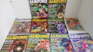 Lote De Revistas Super Game Power
