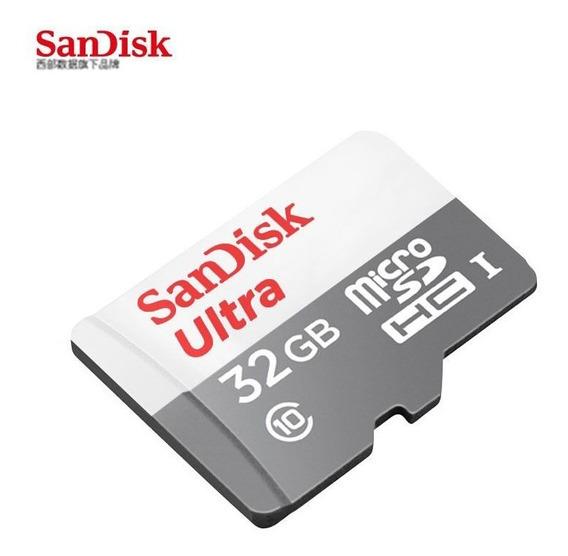 Cartão Micro Sdhc 32gb Classe 10 Original Sandisk Nf