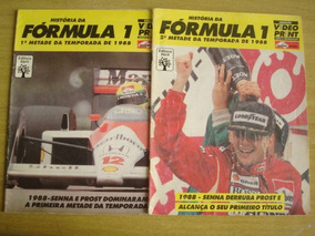 História Da Fórmula 1 Temporada 1988 - Airton Senna X Prost