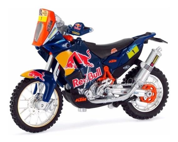 Ktm 450 Rally Dakar 2013 Red Bull 1:18 Bburago 51071