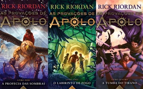 As Provações De Apolo Volumes 2 3 E 4 Rick Riordan