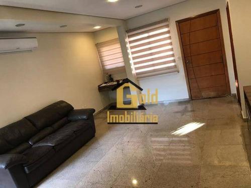 Casa Com 3 Dormitórios À Venda, 81 M² Por R$ 490.000,00 - Jardim Manoel Penna - Ribeirão Preto/sp - Ca0524