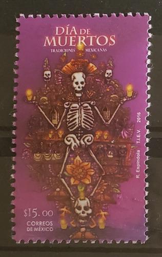 Imagen 1 de 1 de México 2016 :  Tradiciones Mexicanas , Día Muertos , Altar