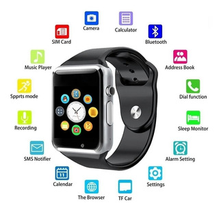 Smart Watch A1 + Mini Fone Bluetooth