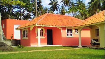 Casa De Vacaciones Amueblada Dentro Residencia En Samaná..