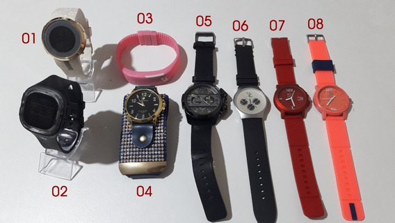 Kit 8 Relógios Masculinos E Femininos (leia O Anúncio)