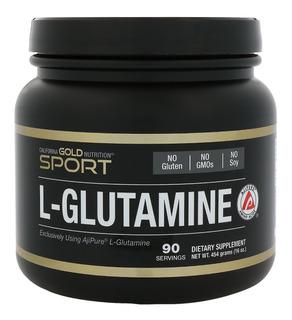 Glutamina California Gold Ajipure / Ajinomoto - 454 Gr Pura