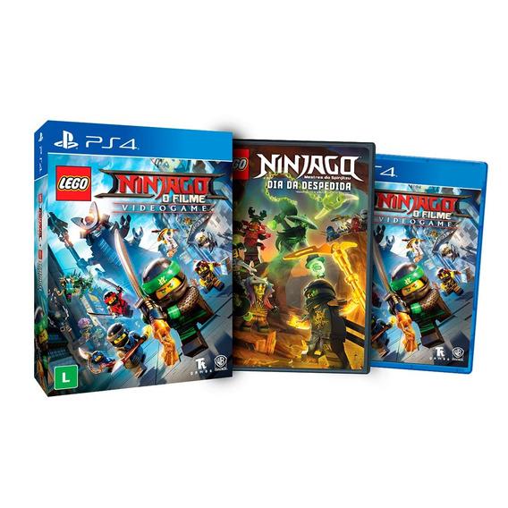 Jogo Lego Ninjago: O Filme - Edição Limitada Para Playstatio